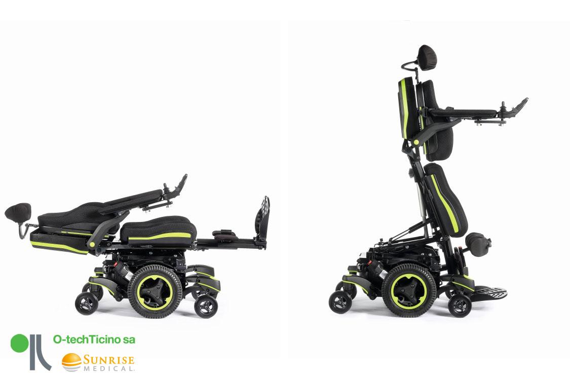 sedia a rotelle elettriche e motori aggiuntivi